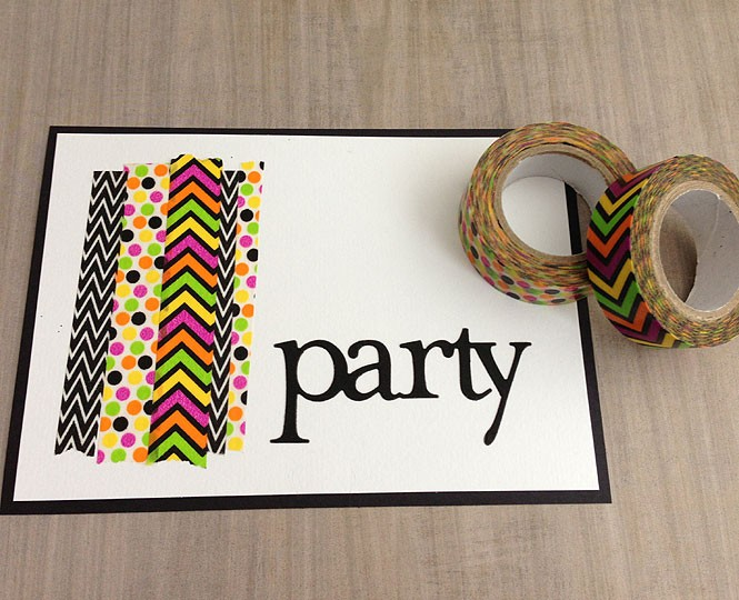 Washi Tape Party