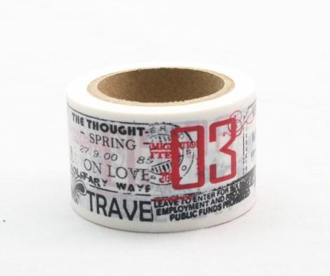 travel washi tape