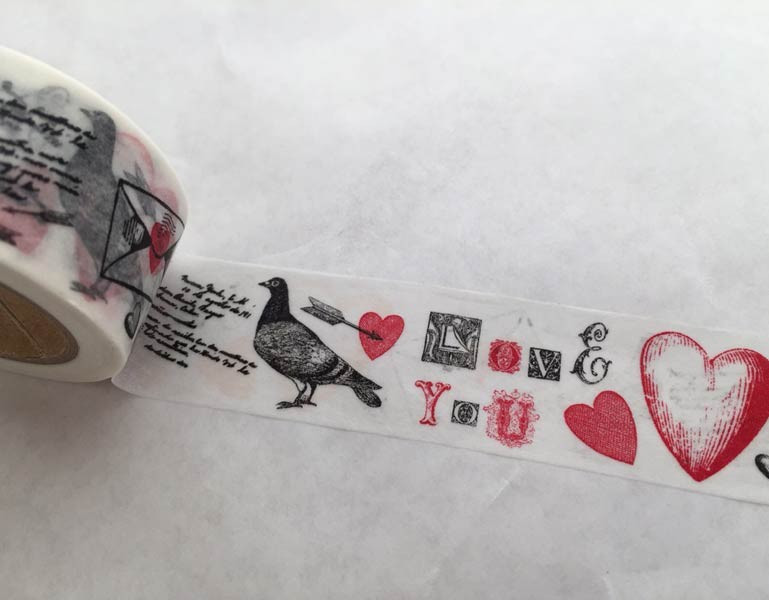 Valentine Images Washi Tape