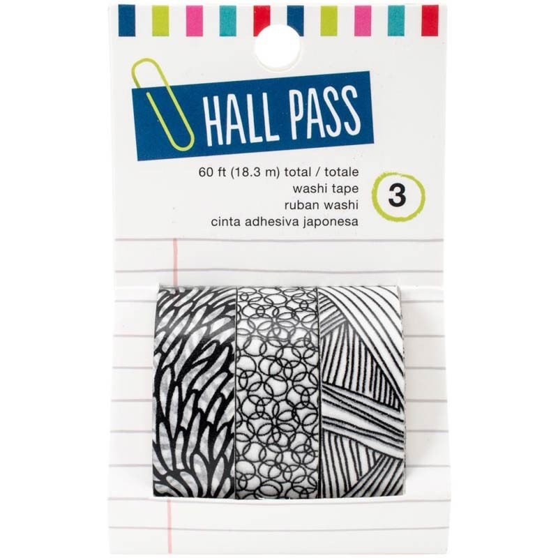 Hall Pass Washi Tape