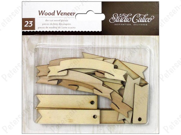 Studio Calico Wood Tags