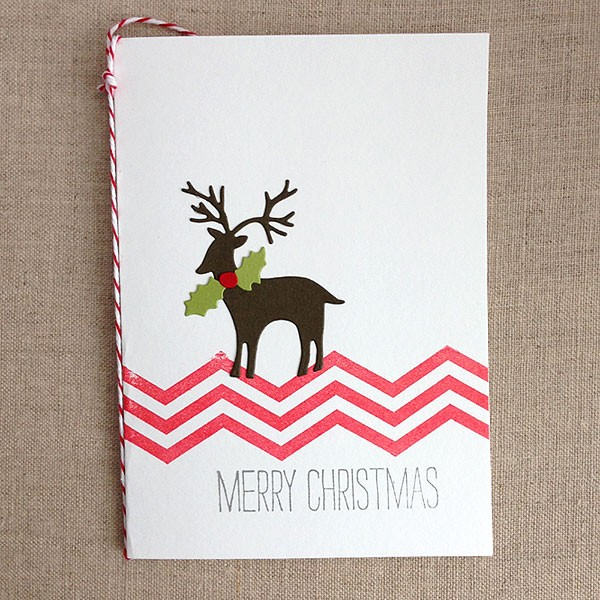 Woodland Deer Card