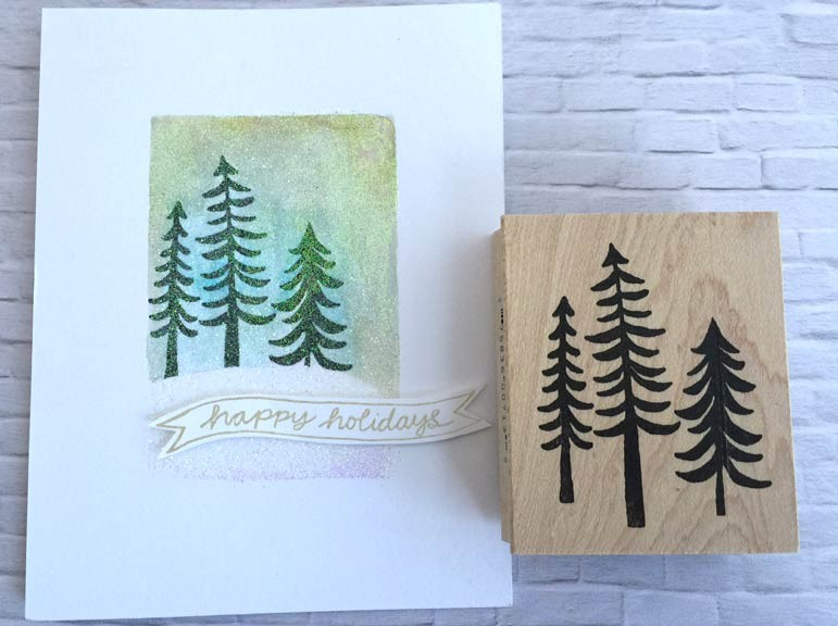 Savvy Stamps Woodland Trees (1439)