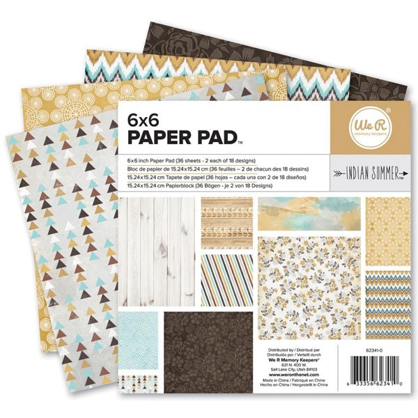 Indian Summer 6x6 Paper Pack