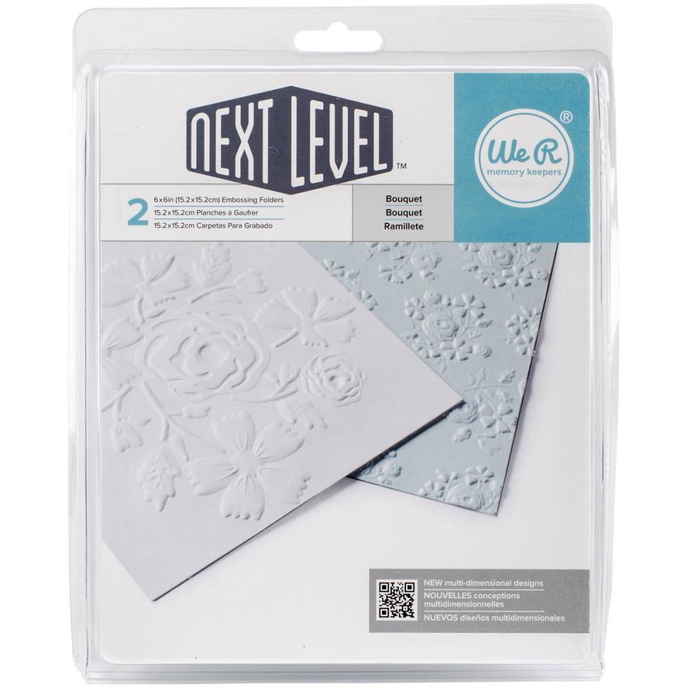 Next Level Bouquet Embossing Folder