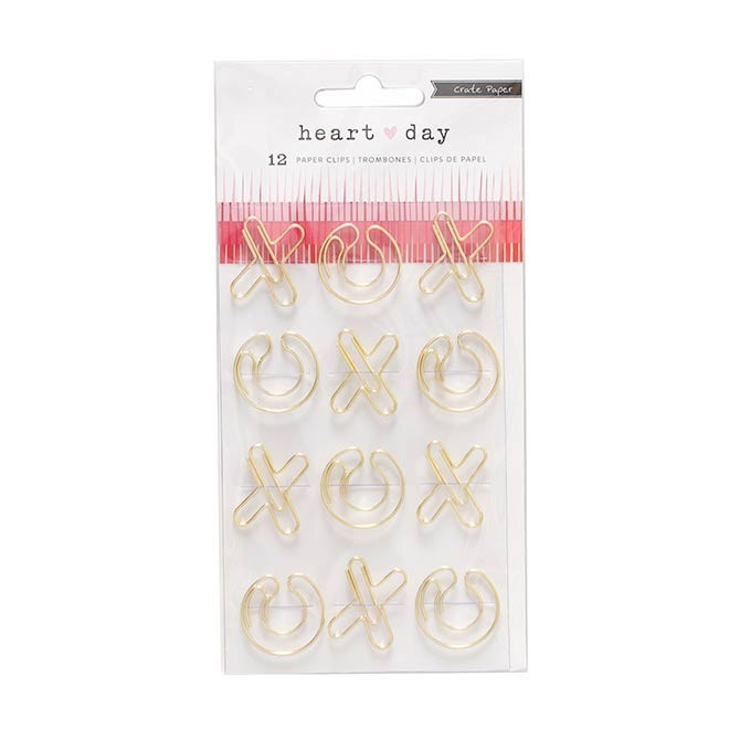 Heart Day Paper Clips