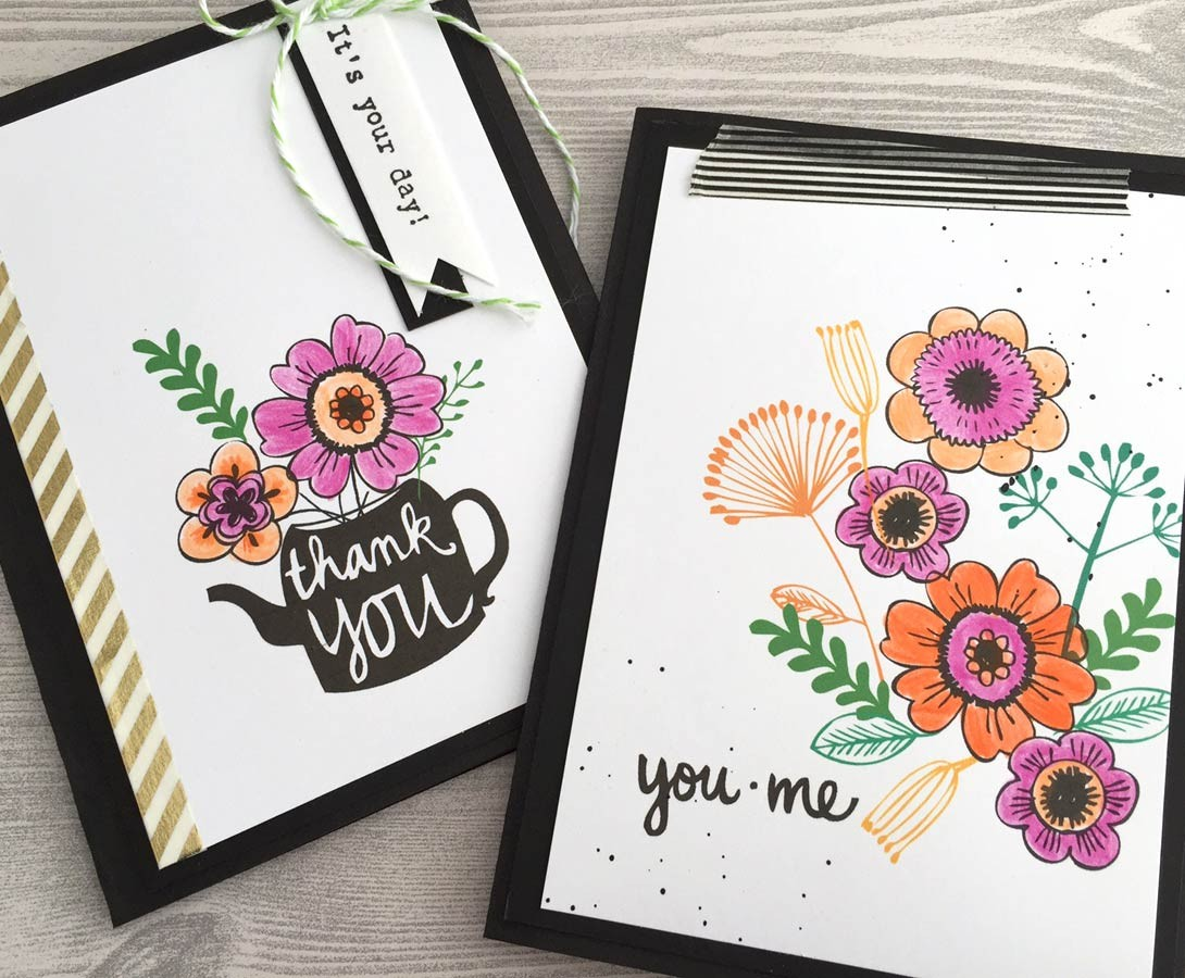 You Me and Tea Clear Stamp Set