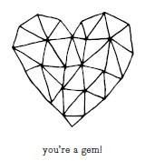 5500E - gem heart combo