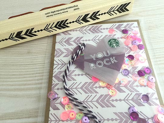 Gift Card Shaker Card