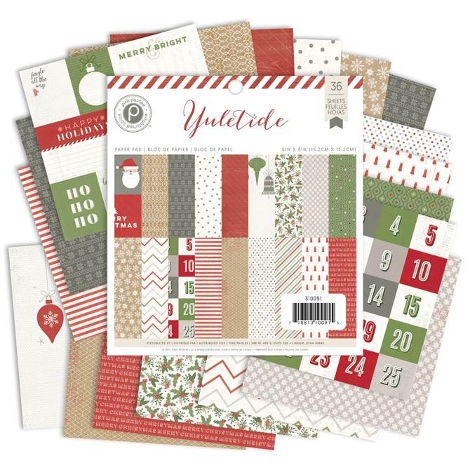 Yuletide 6x6 Paper Pack