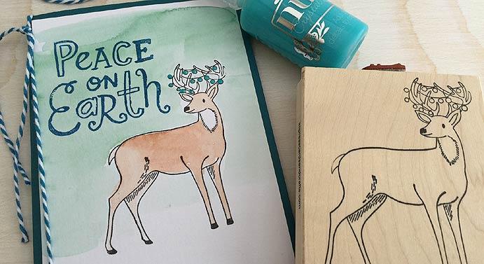peace on earth deer