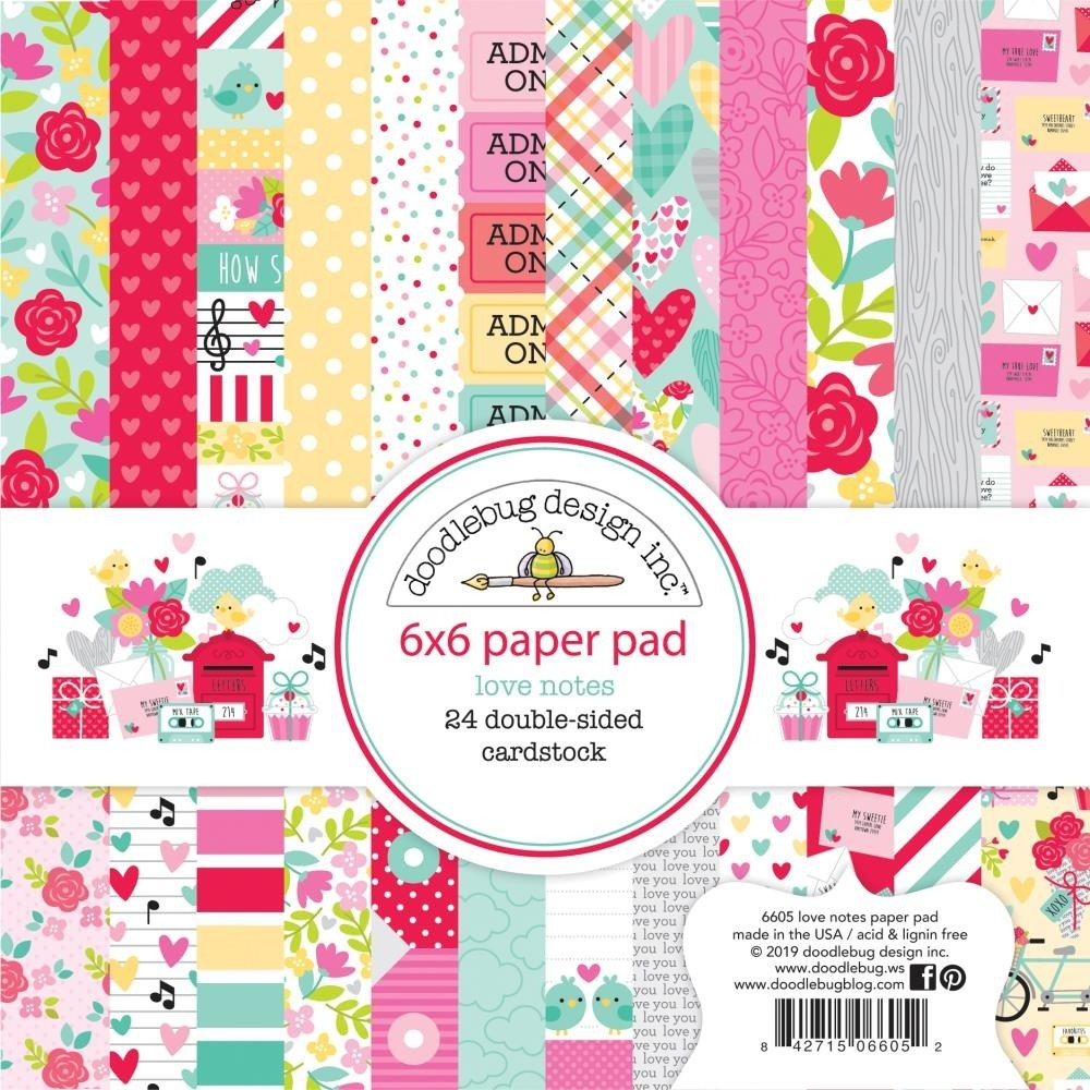 Doodlebug Love Bug 6x6 Paper Pack