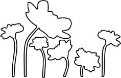 Flower Silhouette Die (10019)