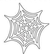 Savvy Spider Web Die (10023)