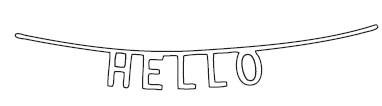 Hello Banner Die (10159)