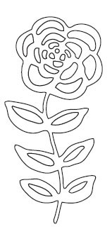 Garden Flower Die (10167)