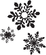 Snowflake Trio (1334i)