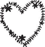 Heart Wreath (1358g)