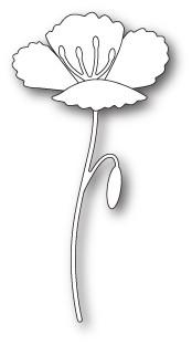 Poppystamps Blooming Poppy (1843)