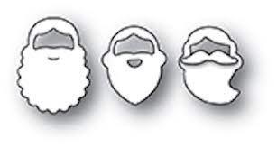 sale - poppystamps holiday beards 1965