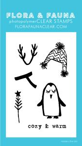 Flora and Fauna Mini Dress Up Penguin Clear Set 20205