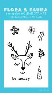 Flora and Fauna Mini Reindeer Love 20209