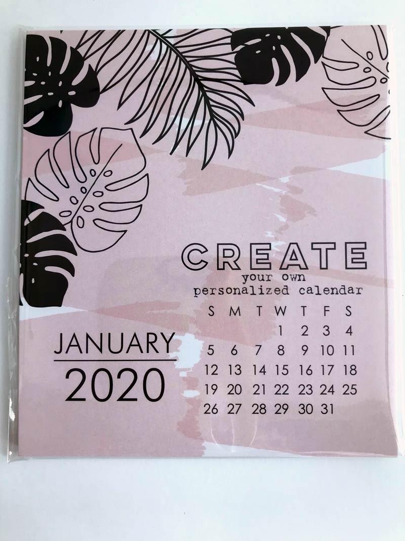 Large Impress 2020DIY Calendar Refill