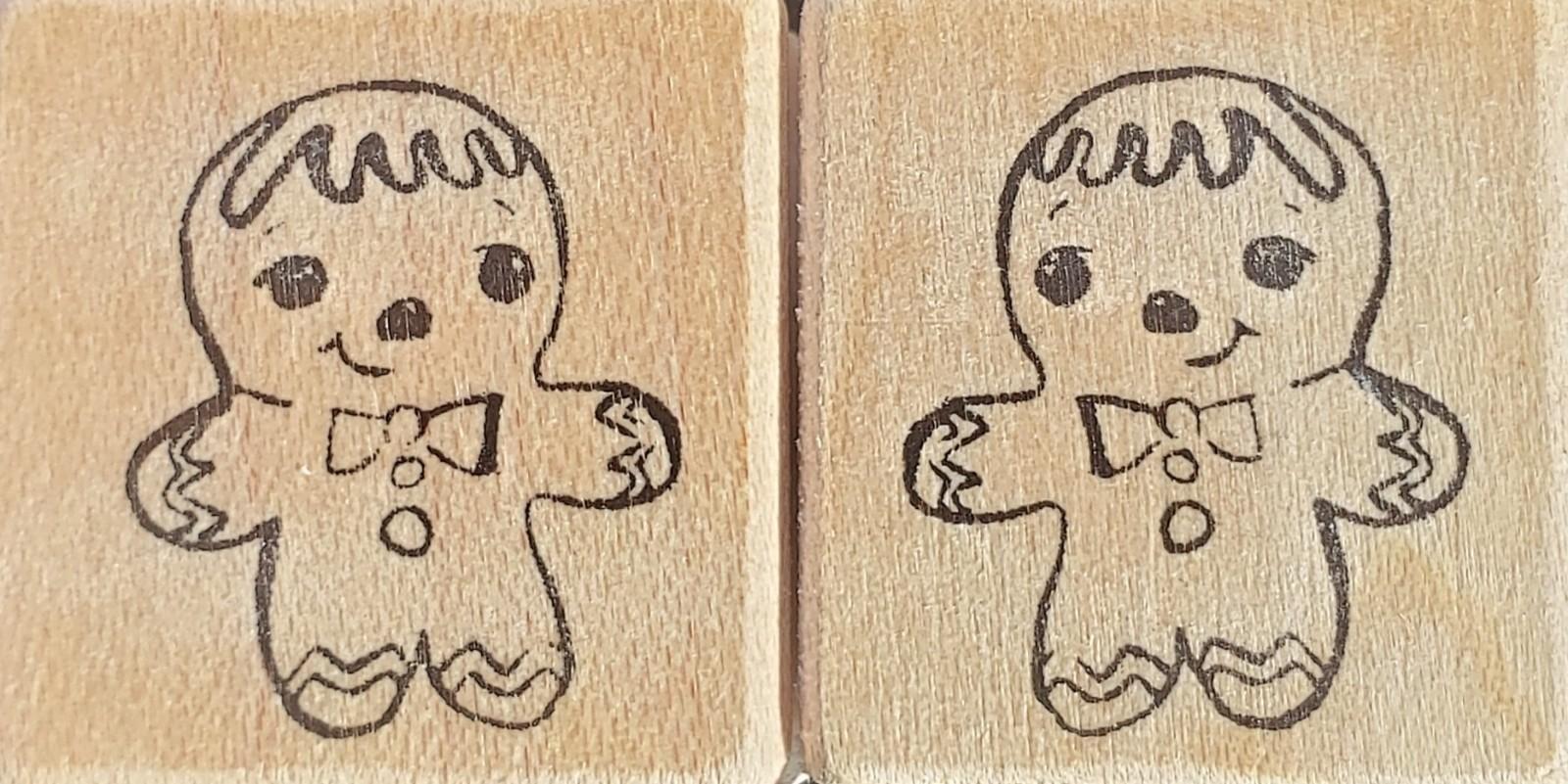 Rubbermoon Mini Gingerbread man set