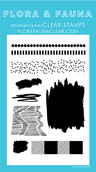 Flora and Fauna Clear Texture 7 stamp set 20212