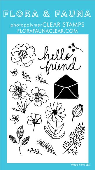 Flora and Fauna flower garden stamps 20229