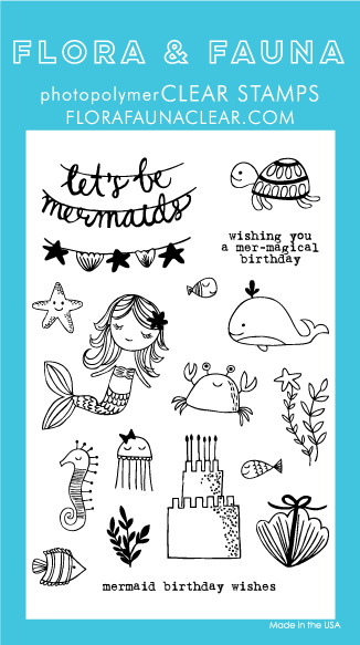 Flora and Fauna Mermaid Birthday Party 20236