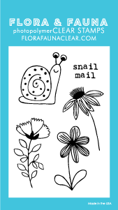 Flora and Fauna Mini Snail Mail 20240