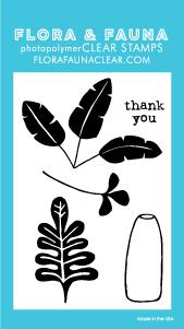 Flora and Fauna Mini Greenery Stamps 20243