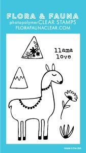 Flora and Fauna Mini Llama Love 20245