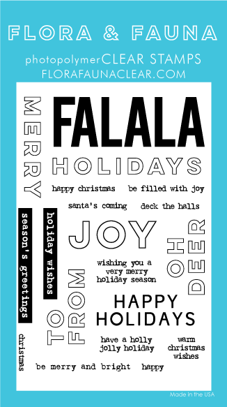 Flora and Fauna Holiday Word Party 2 Set 20263