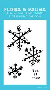 Flora and Fauna Mini Snowflakes Set 20273