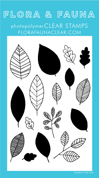 Flora and Fauna Leaf Pattern Clear Set 20280