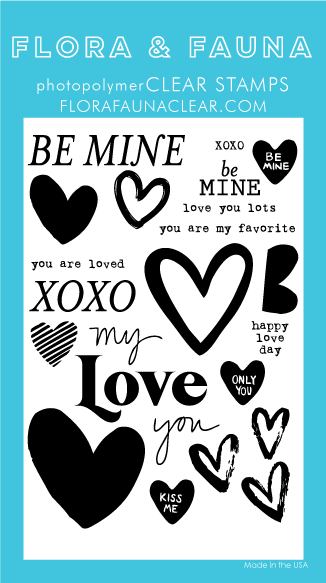 Flora and Fauna Be Mine Word Set 20349