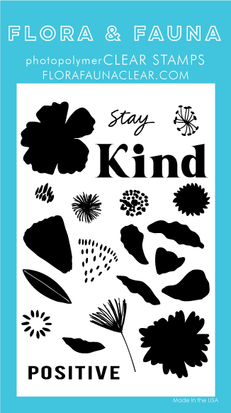 Flora and Fauna Stay Kind Brush Petal Set 20356