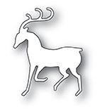 sale - Poppy Stamps Dashing Reindeer 2078