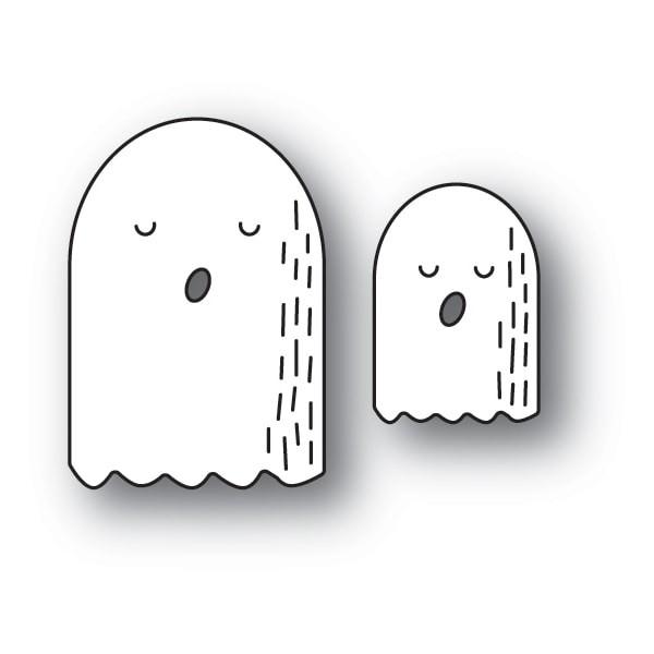 Poppy Stamps Whittle Ghosts craft die 2122
