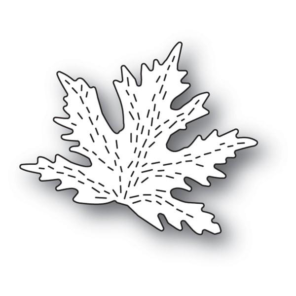 Poppy Stamps Whittle Maple Leaf craft die 2136