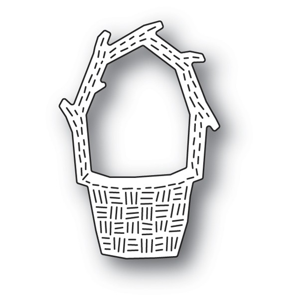 Poppy Stamps Whittle Basket 2184