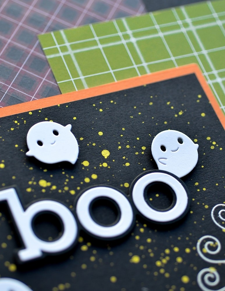 Poppystamps Squeaker Ghosts 2264