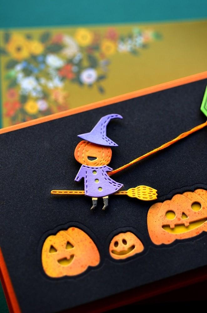 Poppystamps Haunting Pumpkins 2267