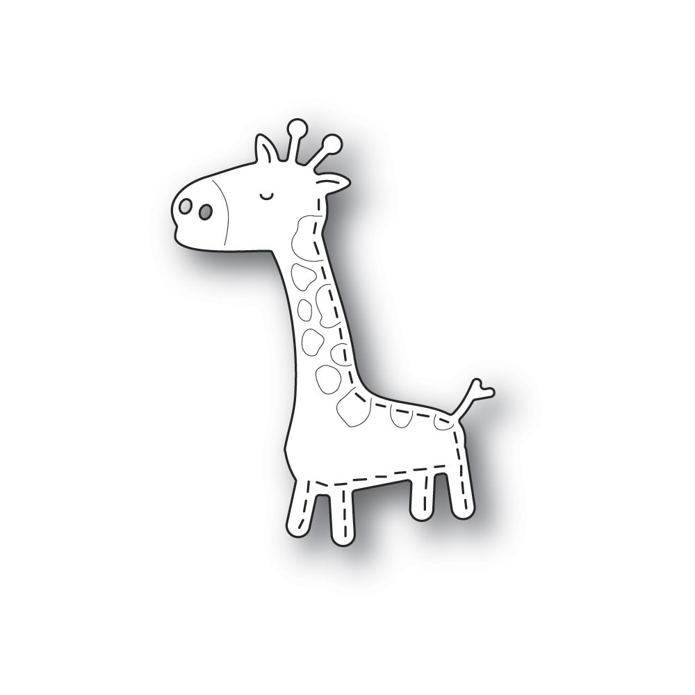 Poppystamps Whittle Giraffe 2304