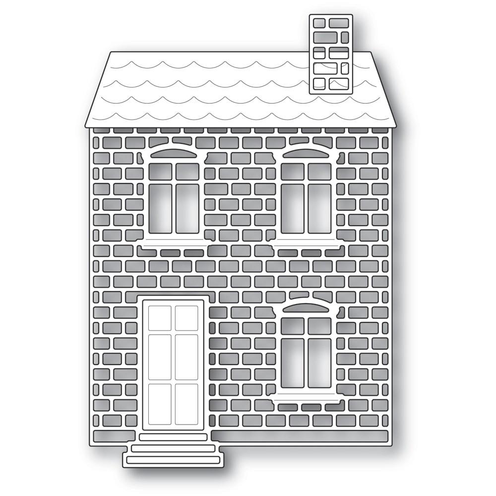 Poppystamps Proper Brick House 2317