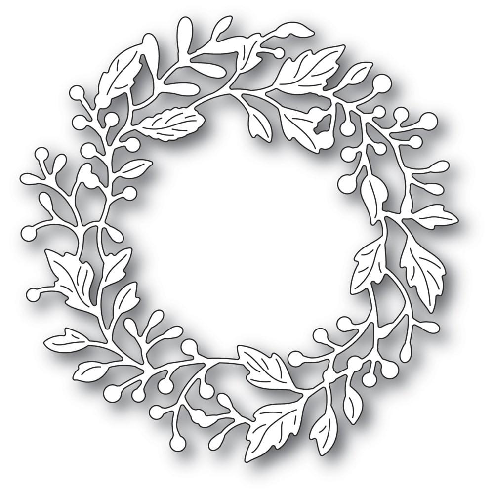Poppystamps Adriana Wreath 2320