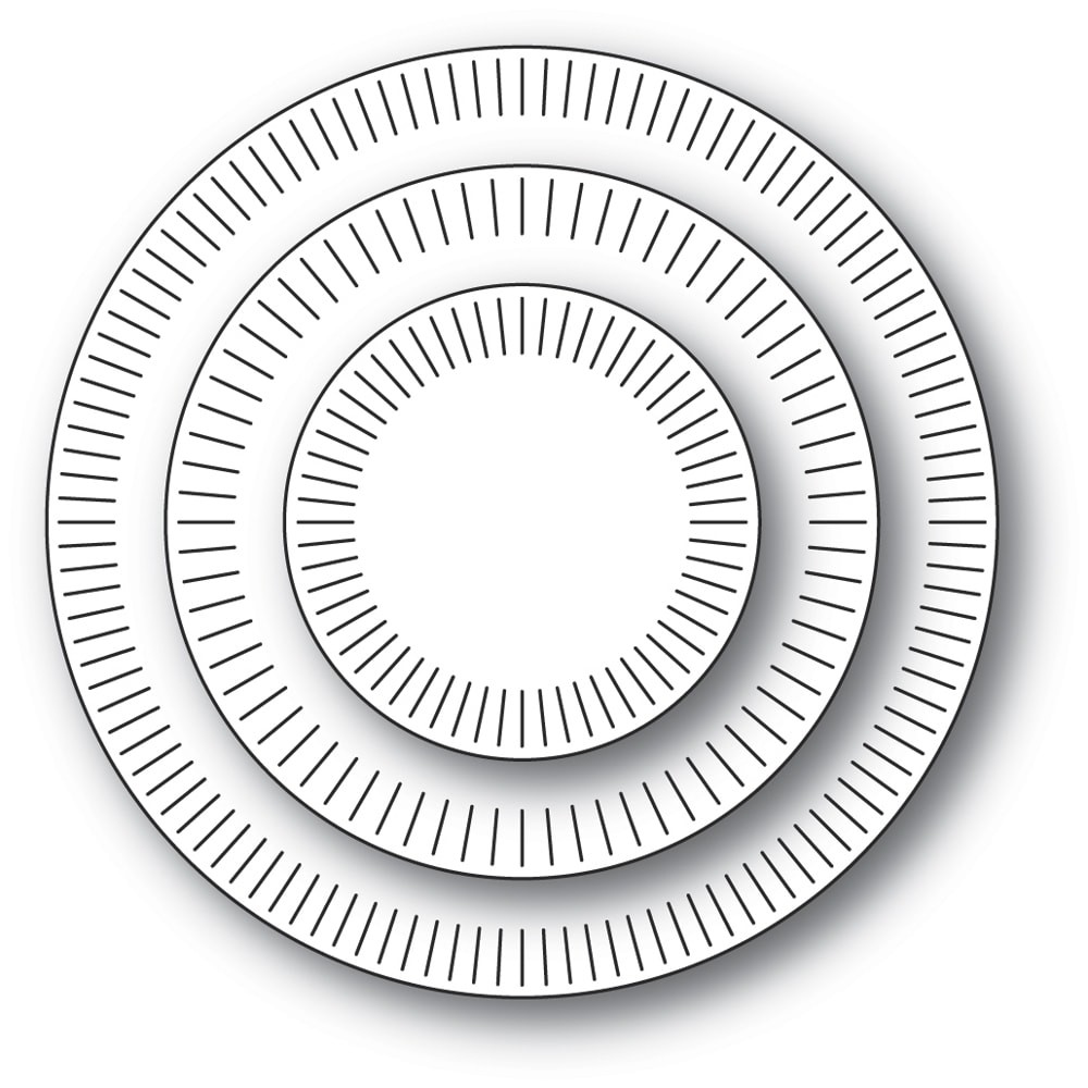 Poppystamps Brilliant Rings 2328