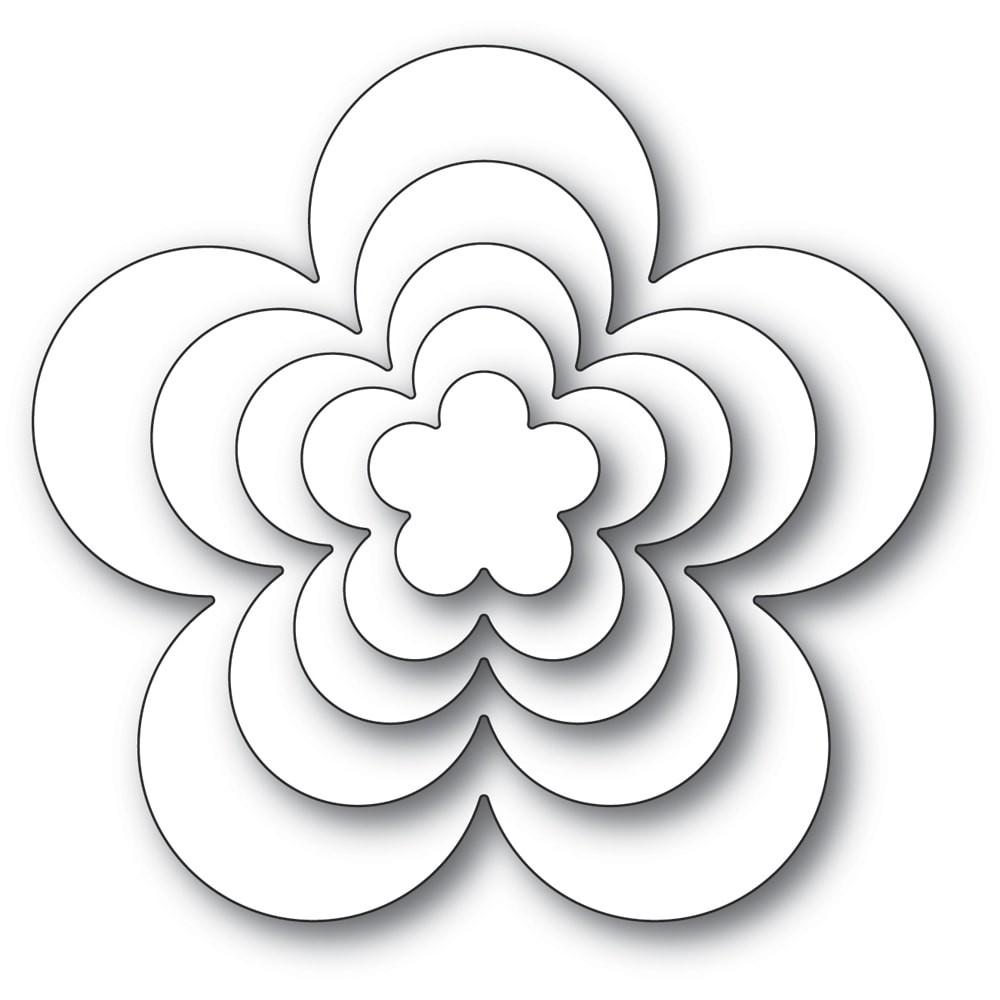 Poppystamps  Flora Bloom Solids Set 2331